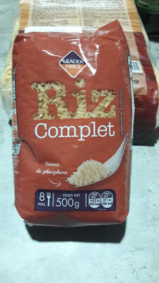 Riz Complet Étuvé - Valori nutrizionali - fr
