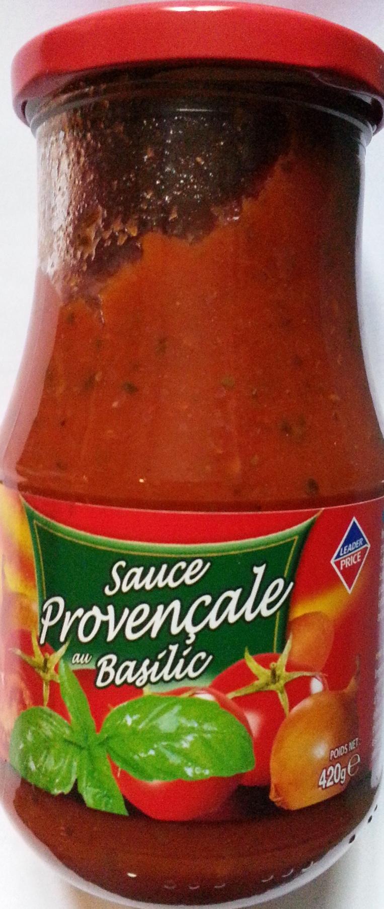 Sauce Provençale au Basilic - Produit