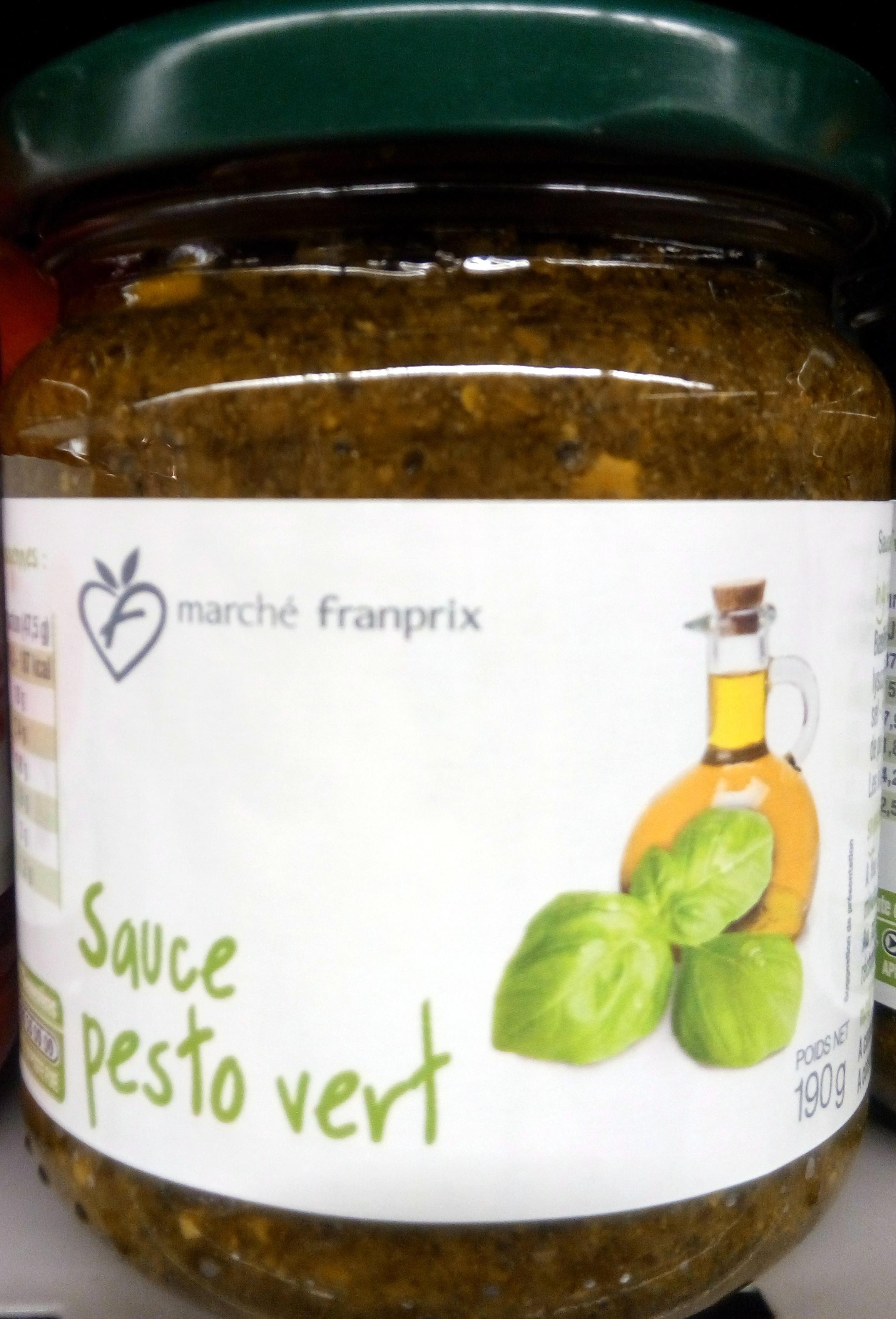 Sauce pesto vert - Product - fr