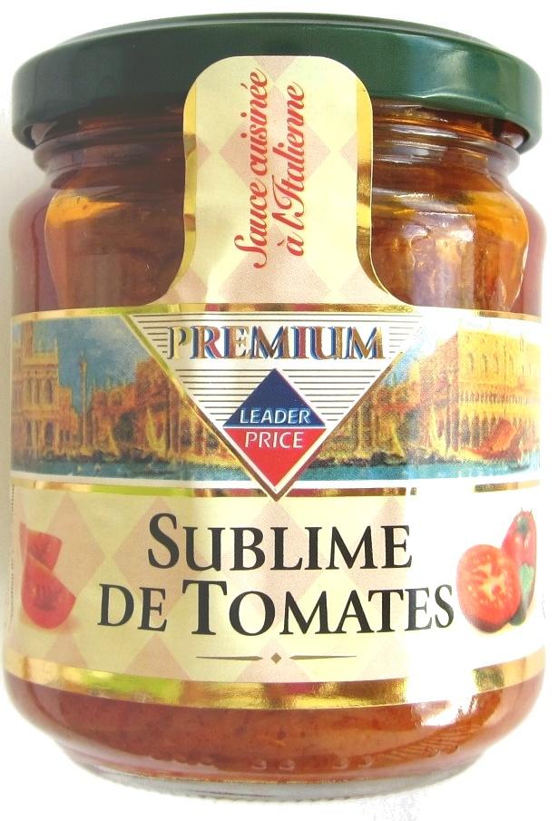 Sublime de tomates - Product