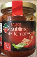 Sublime de tomates - Voedigswaarden