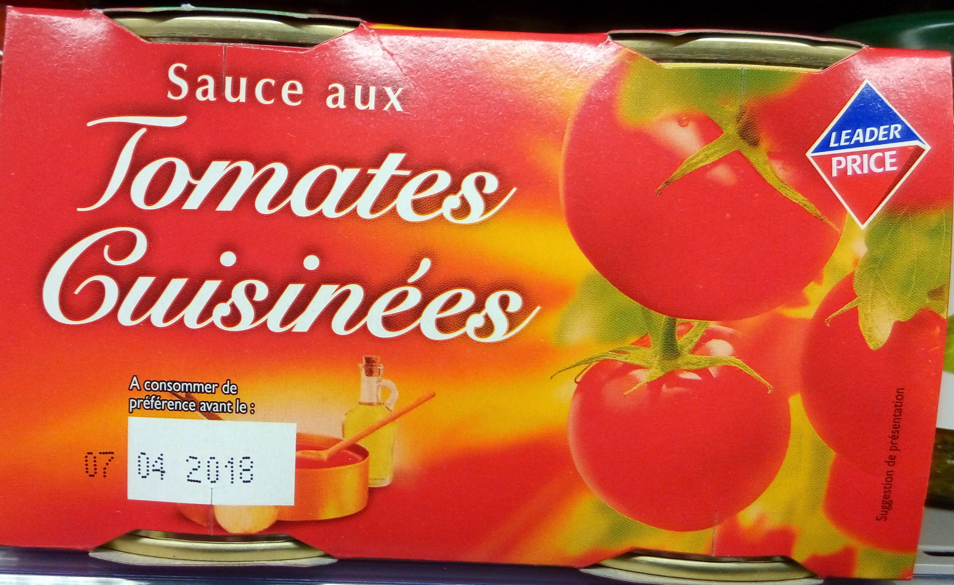 Sauce aux tomates fraîches - Product - fr