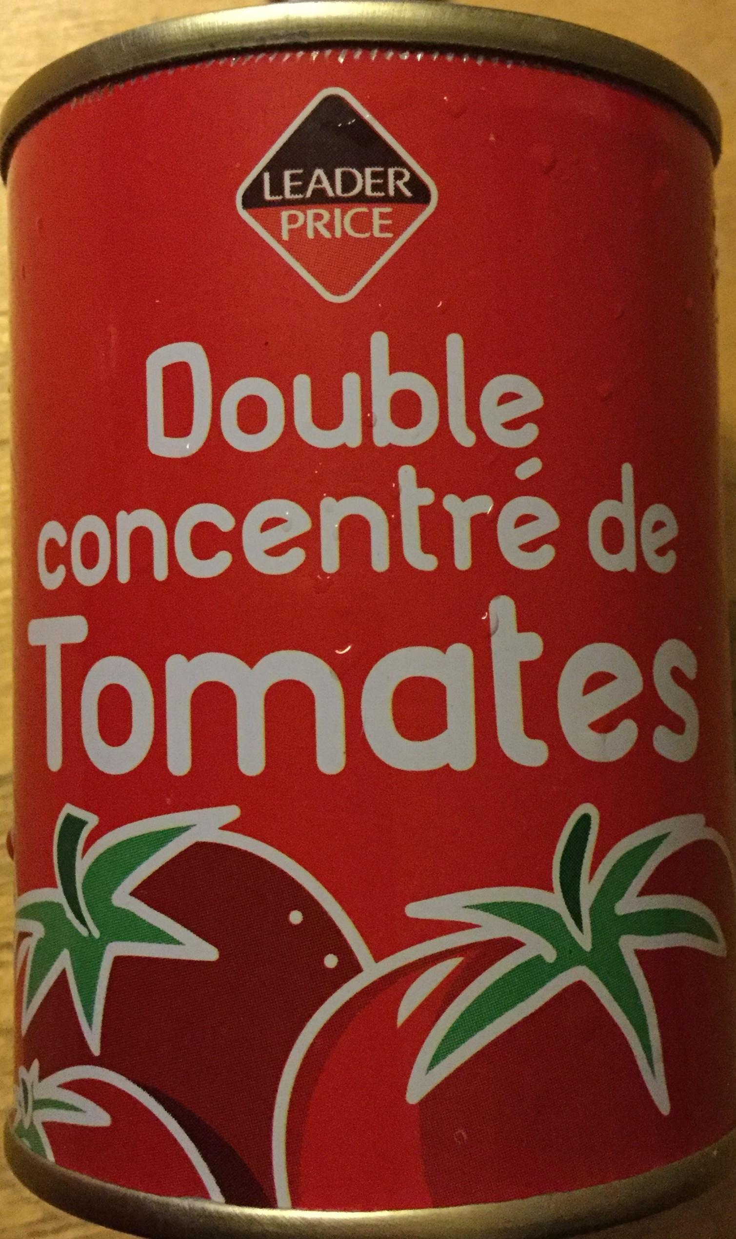 Double concentré des tomates - Produit - fr