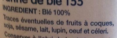 Farine de blé T55 - Ingrédients - fr