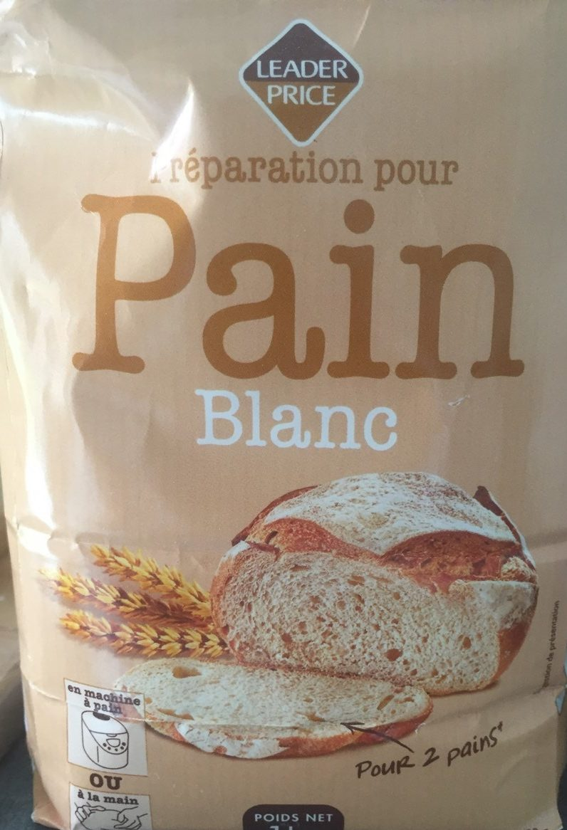 Pain Blanc preparation - Produit - fr