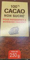 Cacao non sucré - Produto - fr