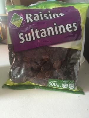 Raisins sultanines - Produit - fr