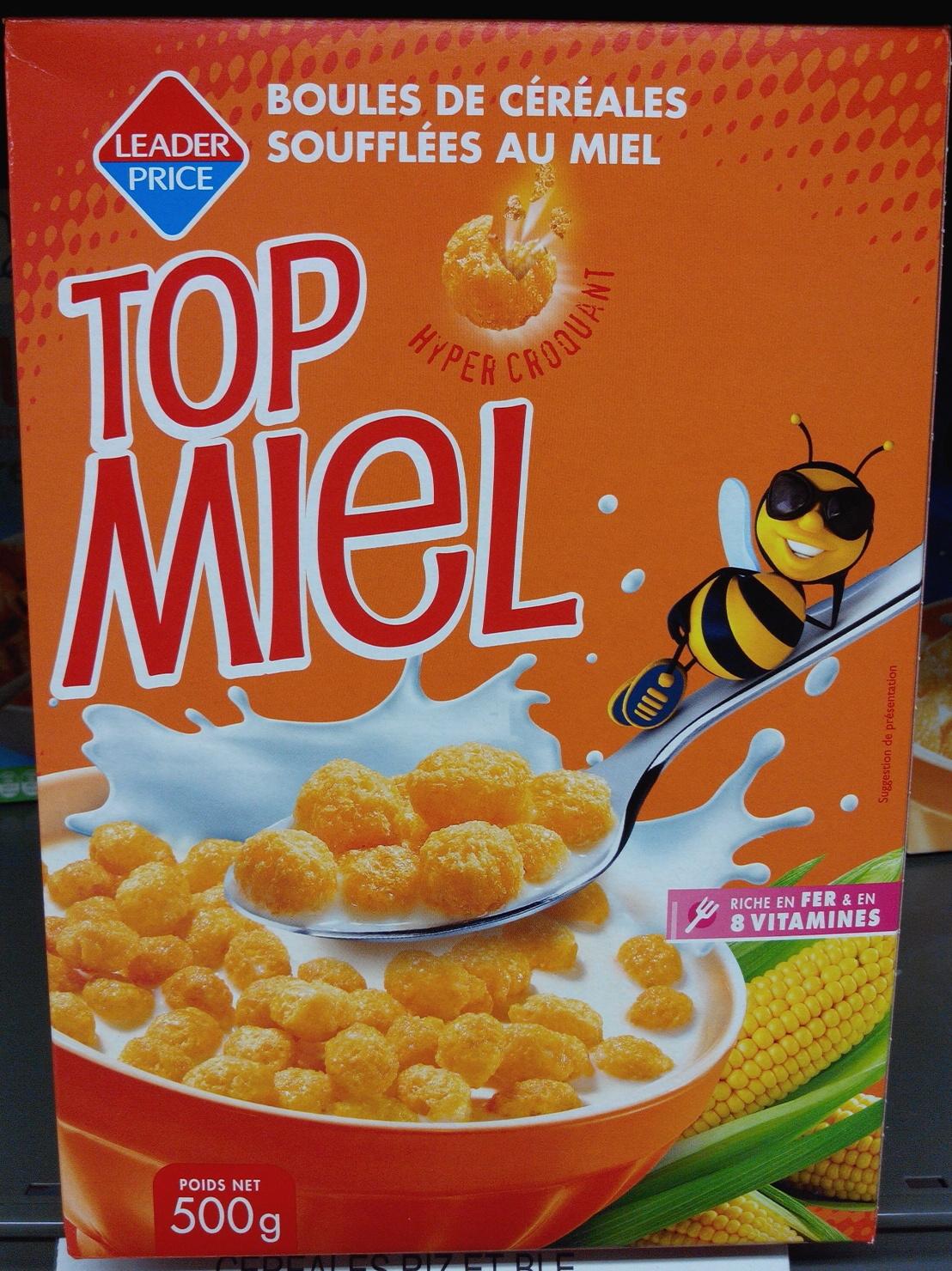 Top Miel - Produit - fr