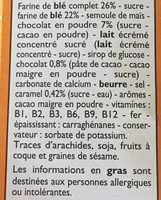 Top Croustillant - Ingrédients - fr