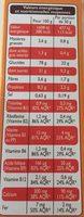 Top Croustillant - Informations nutritionnelles - fr