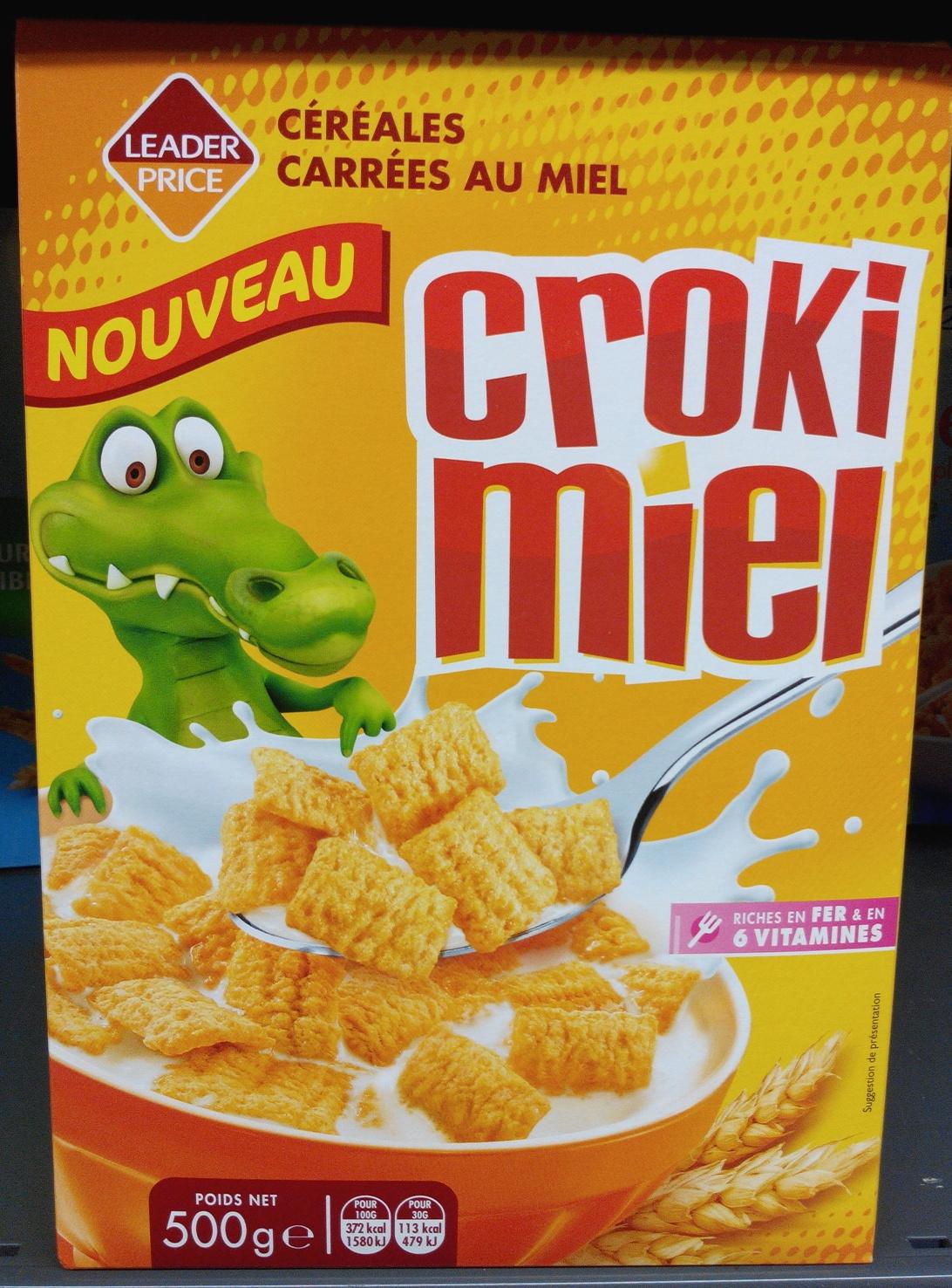 Croki miel - Produit - fr