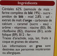 Croki miel - Ingrédients - fr