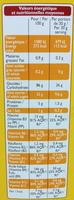 Croki miel - Informations nutritionnelles - fr