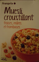 Muesli croustillant Fruit rouge - Product - fr