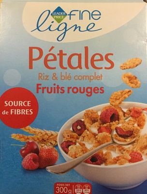 Riz et blé complet fruits rouges - Product - fr