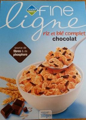 Riz et blé complet chocolat - Fine ligne - Prodotto - fr