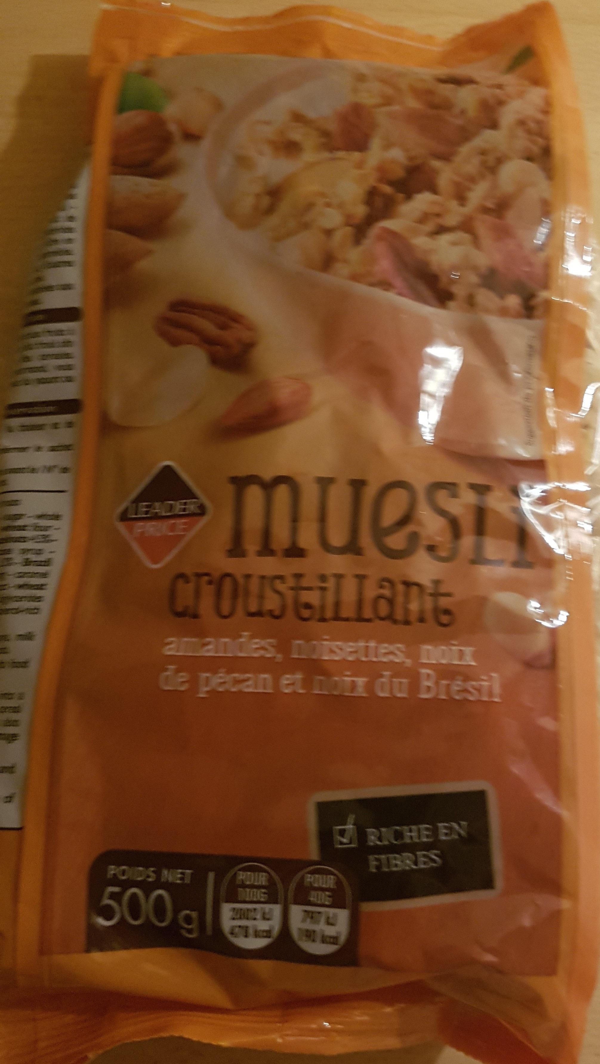 Muesli croustillant aux noix - Produit
