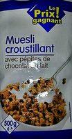 Muesli Croustillant aux Éclats de Chocolat au Lait - Produit - fr