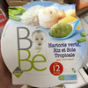 Bébé Haricots verts, Riz et Sole Tropicale avec morceaux - Product