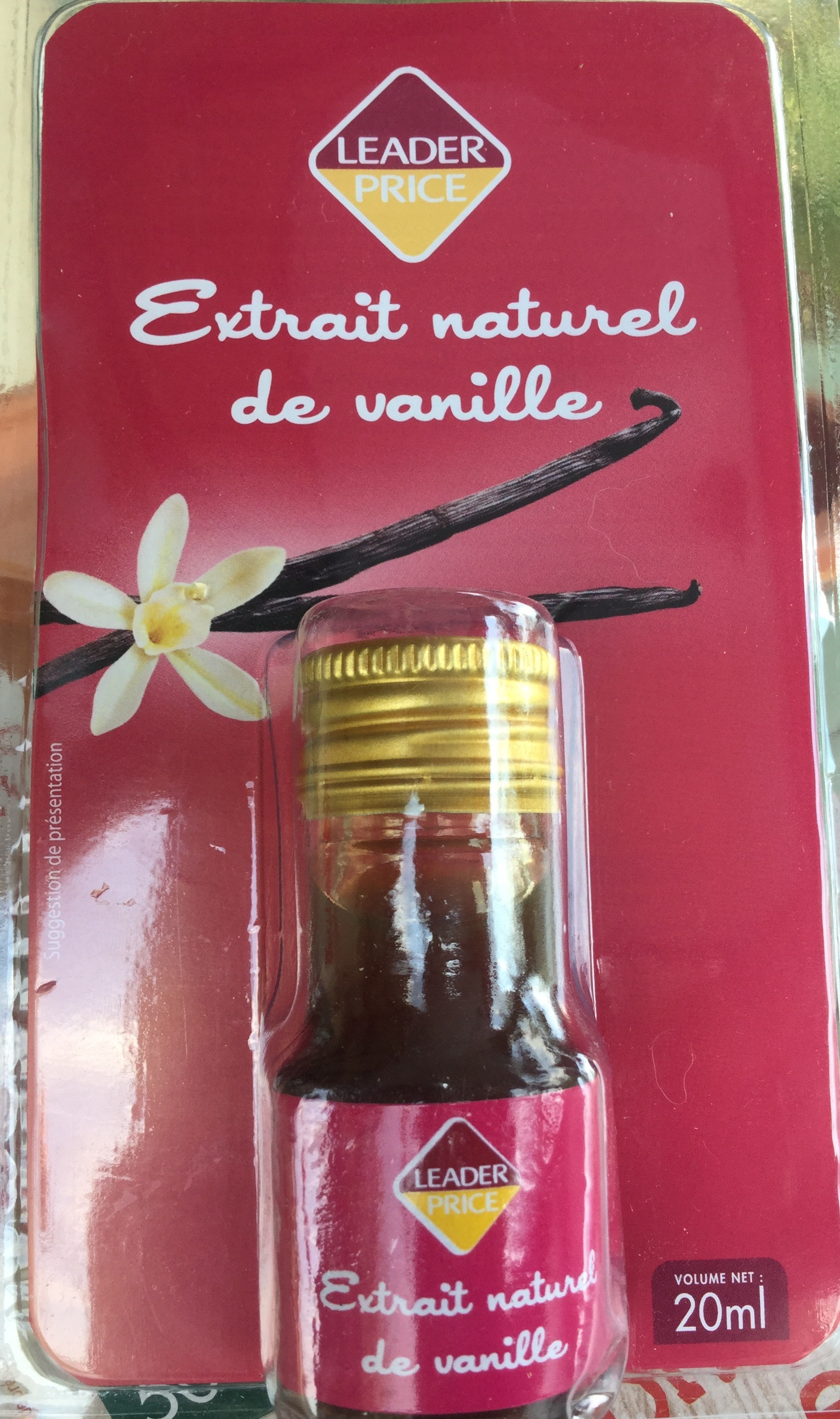 Extrait naturel de vanille - Product - fr