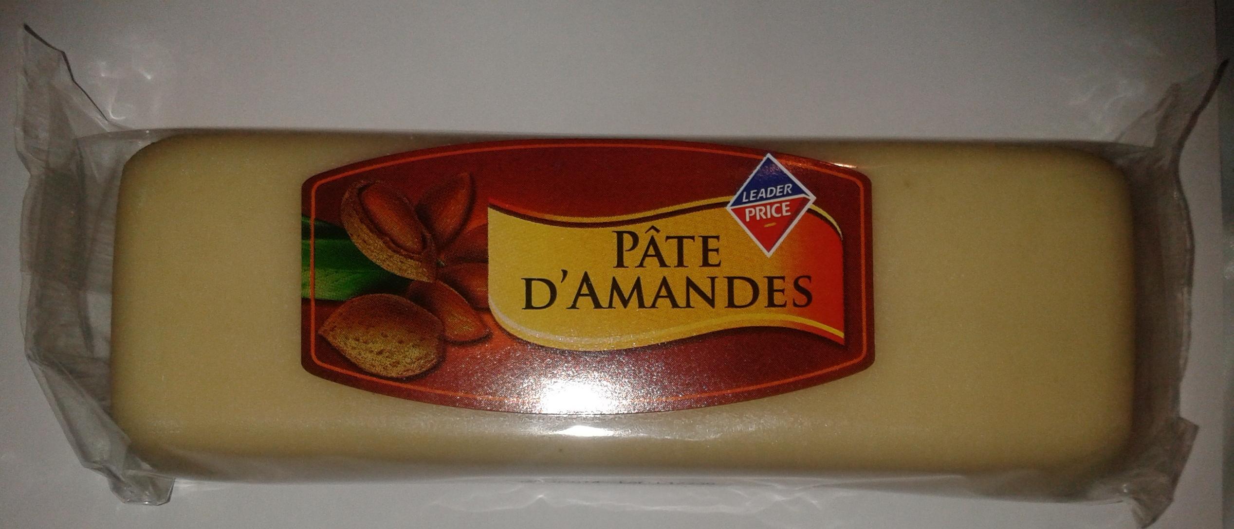 pâte d'amande - Product