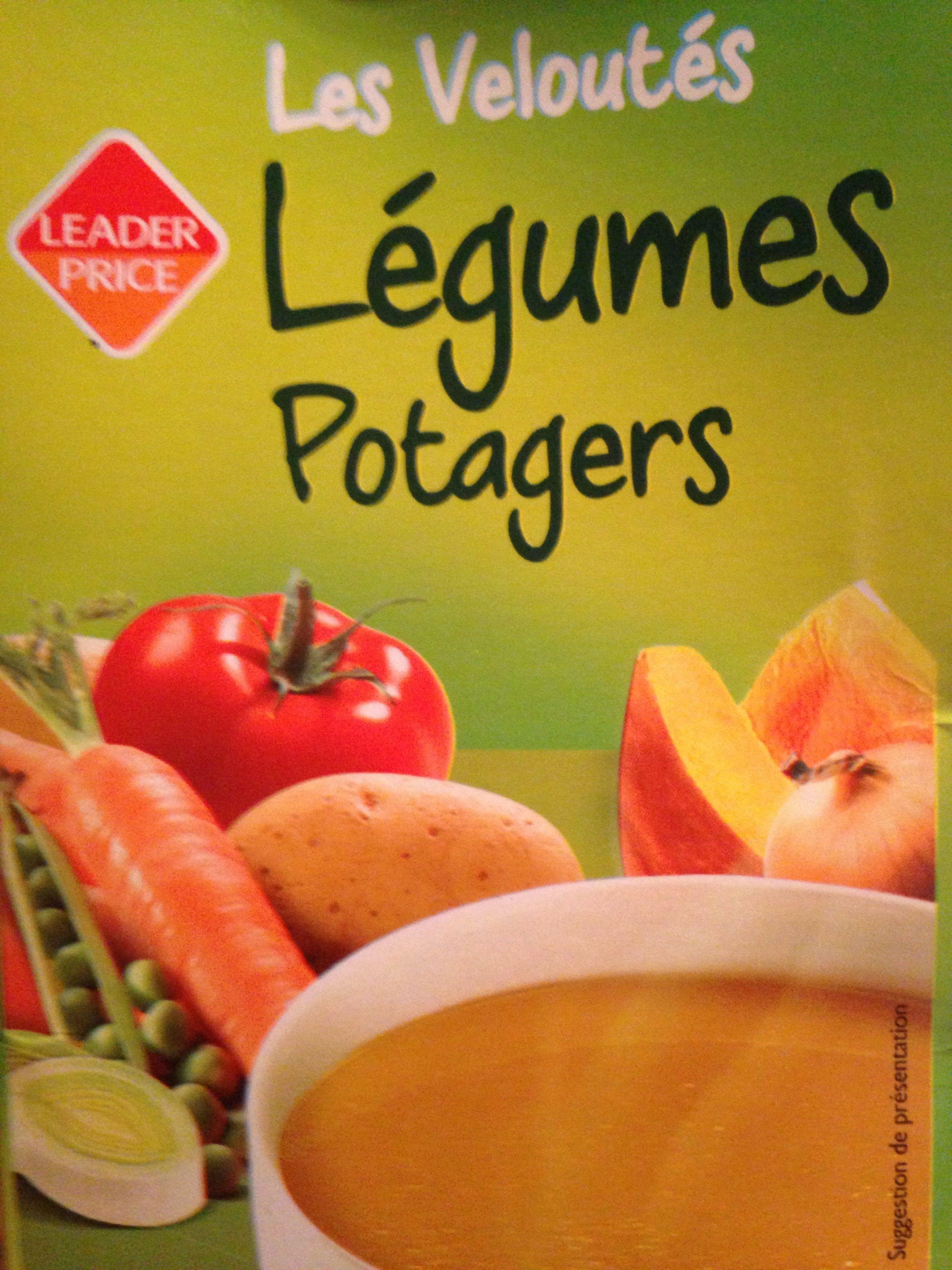 Soupe les veloutes légumes potagers - Produit