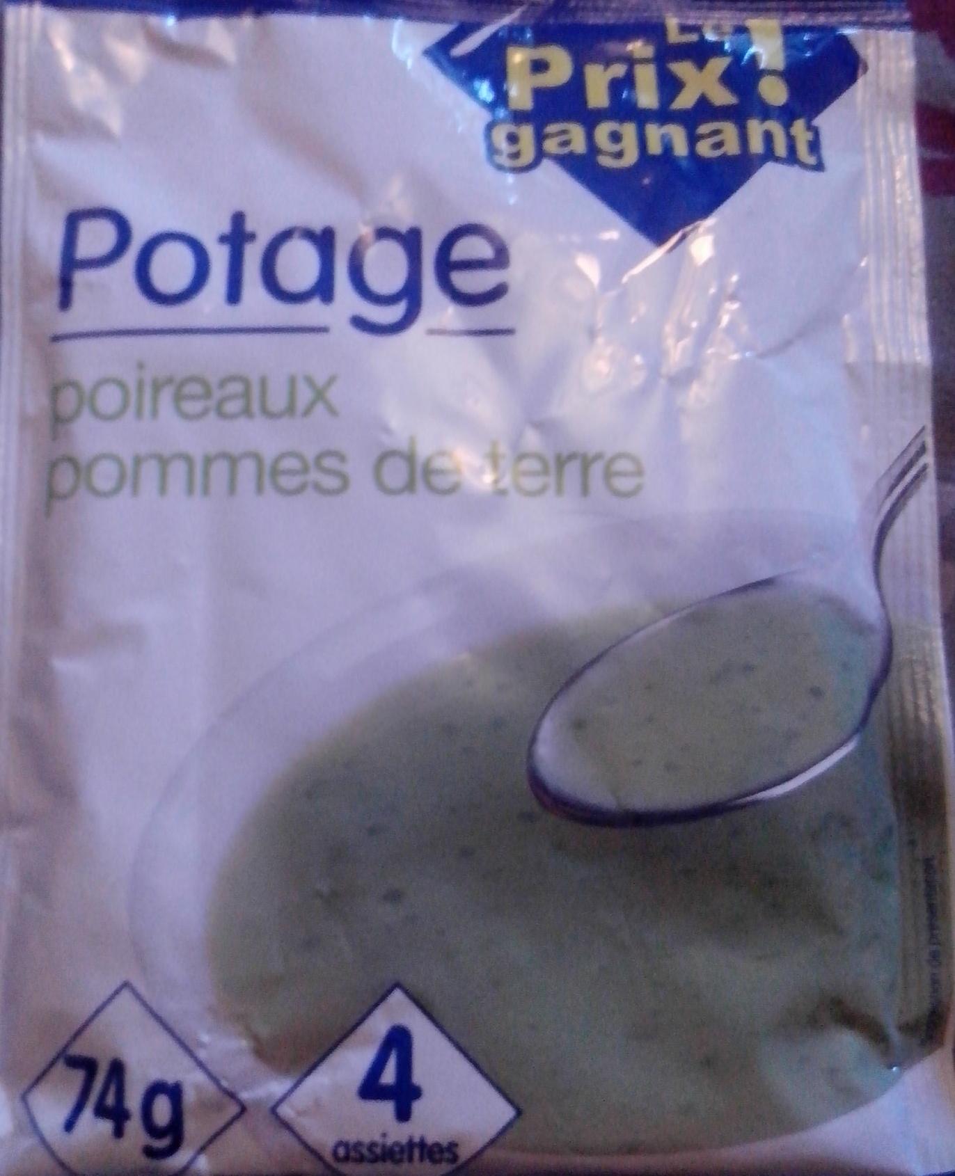 Potage poireaux pommes de terre - Product