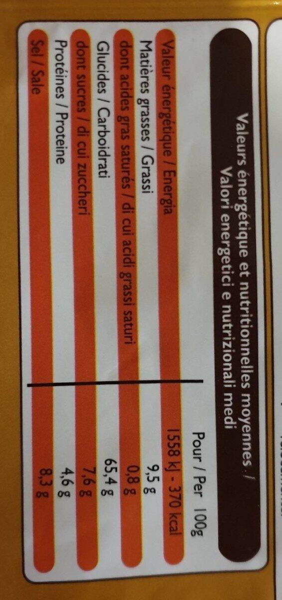 Velouté de bolets - Nutrition facts - fr
