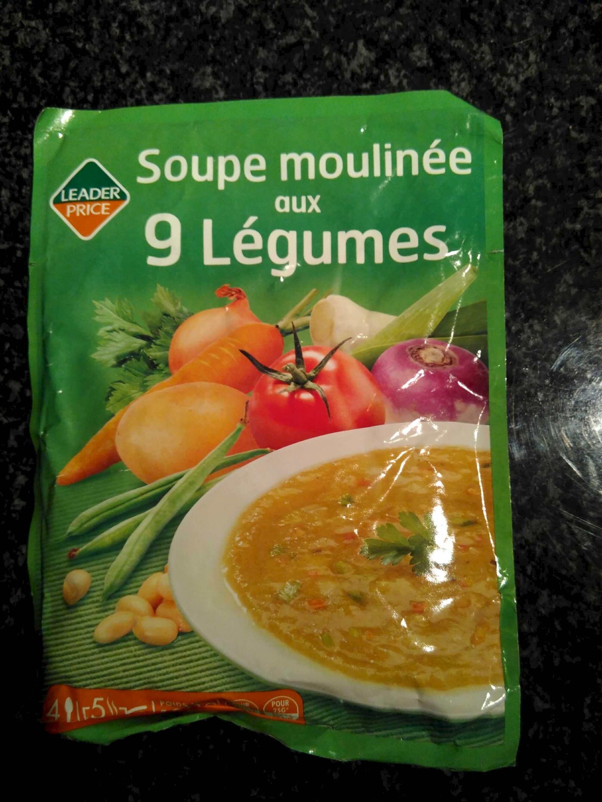 Soupe moulinée aux 9 légumes - Product - fr