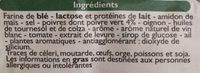Sauce au Poivre Vert - Ingrédients