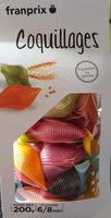 Coquillages multicolores - Product