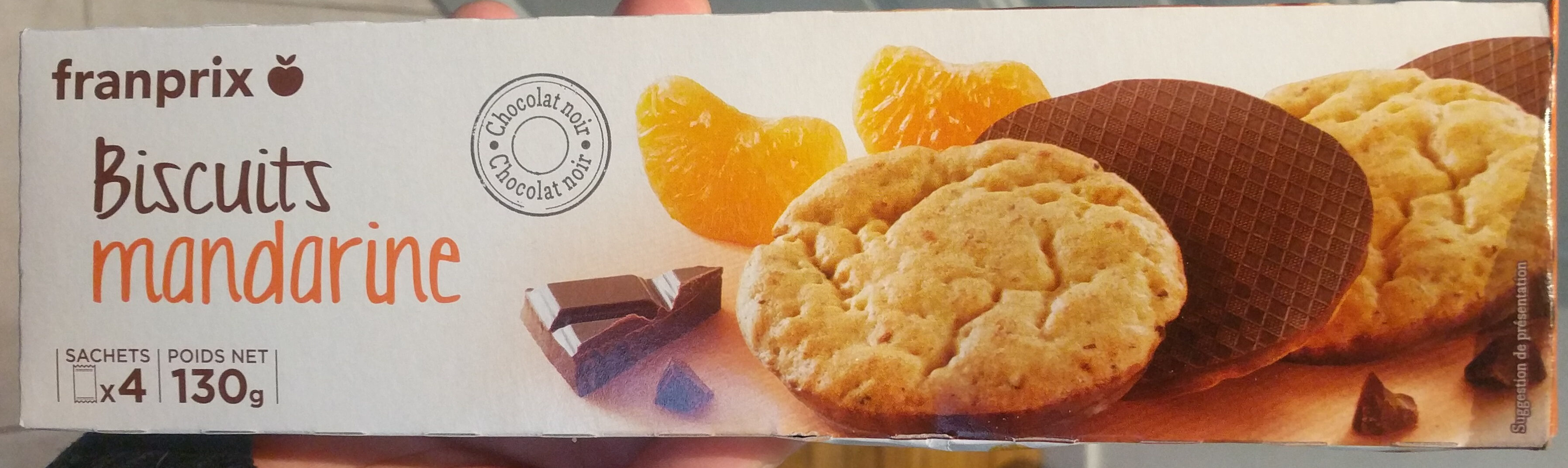 Biscuits Mandarine - Product - fr
