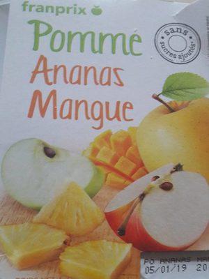 Compote pomme ananas mangue - Produkt - fr