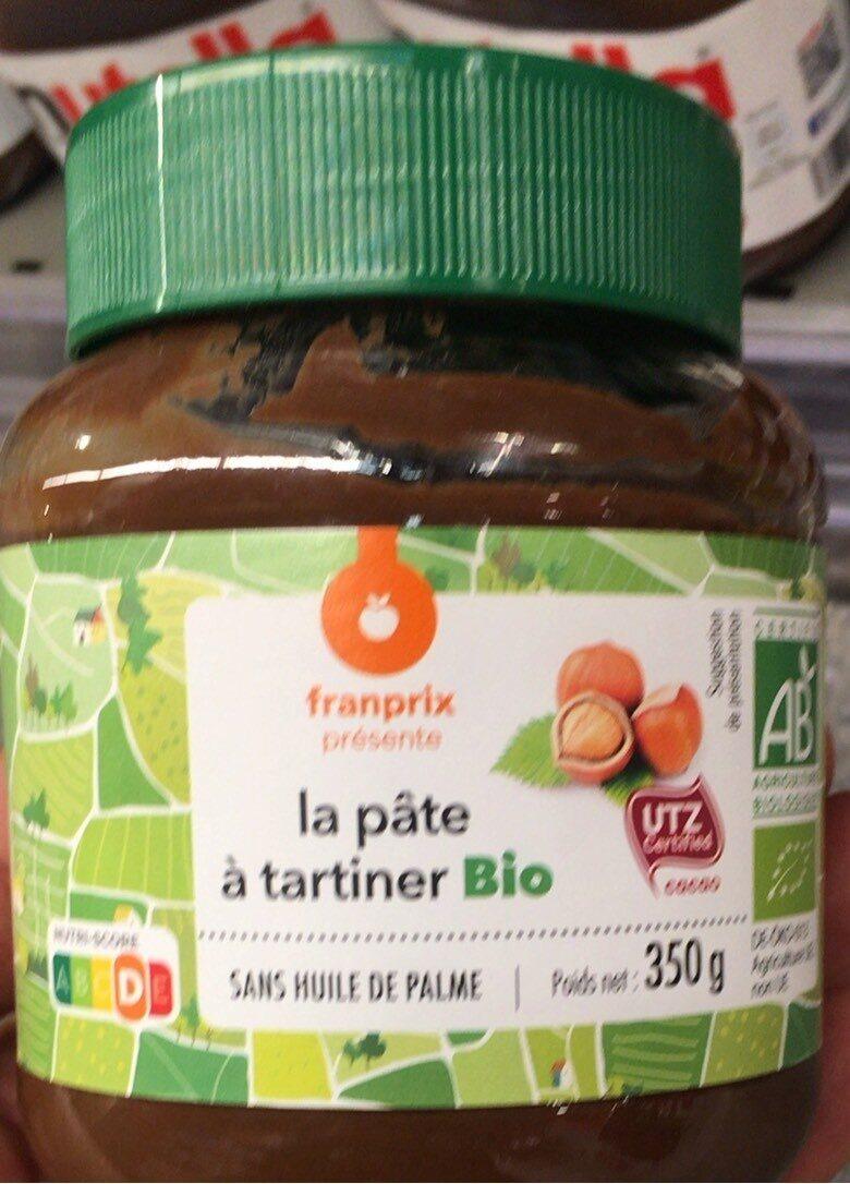 Pate a tartiner bio - Produit - fr