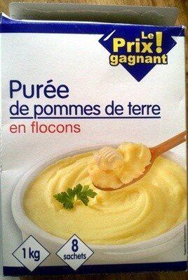 Purée de pommes de terre en flocons - Produit - fr
