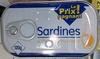 Sardines à l'huile de tournesol - Produit