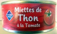 Miettes de Thon à la Tomate - Produit - fr