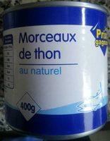 Morceaux de thon au naturel - Product - fr
