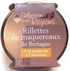 Rillettes de maquereaux de Bretagne, à la moutarde à l'ancienne - Produit