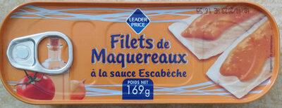 Filets de Maquereaux Sauce Escabèche - Produit - fr