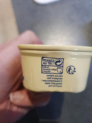 Filets de Maquereaux Marinés au Vin Blanc et aux Aromates - Instruction de recyclage et/ou information d'emballage - fr