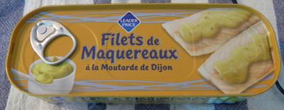 Filets de Maquereaux (à la Moutarde de Dijon) - Produit - fr