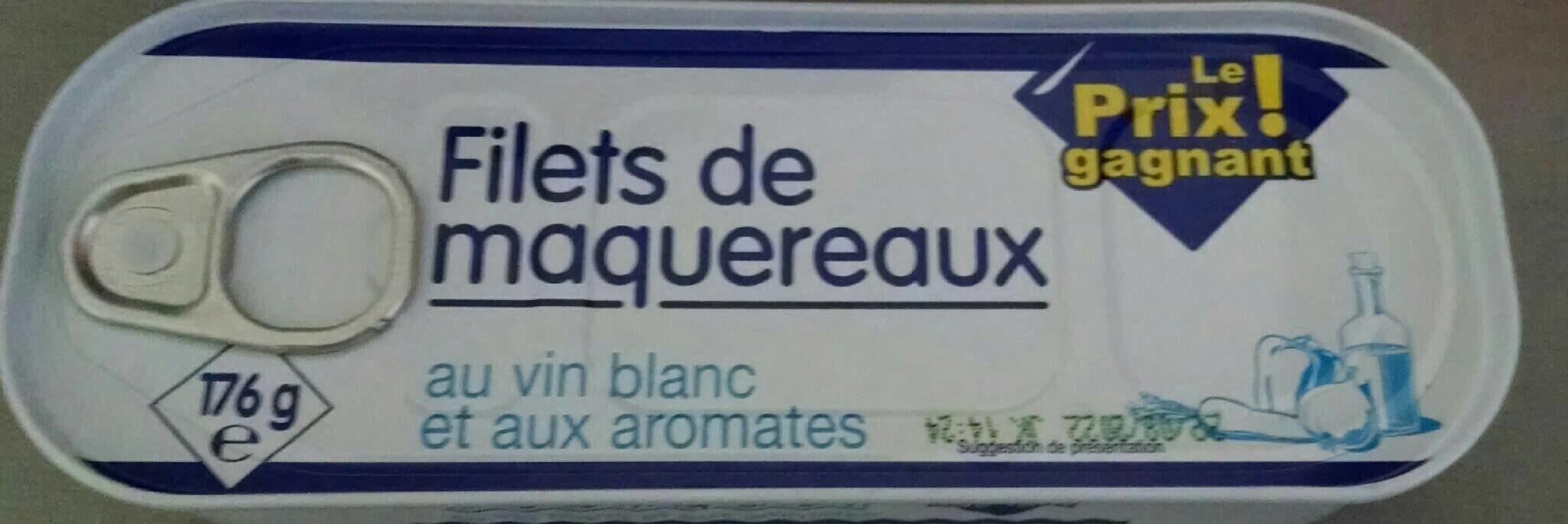 Filets de maquereaux au vin blanc - Produit - fr