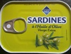 Sardines à l'huile d'olive vierge extra - Product
