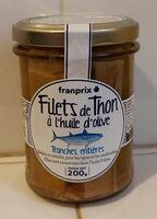 Filets de thon à l'huile d'olive - Produit