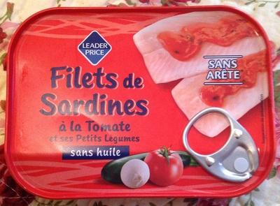 Filets de Sardines à la Tomate - Product - fr