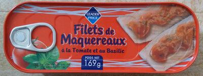 Filets de Maquereaux à la Tomate et au Basilic - Produit - fr