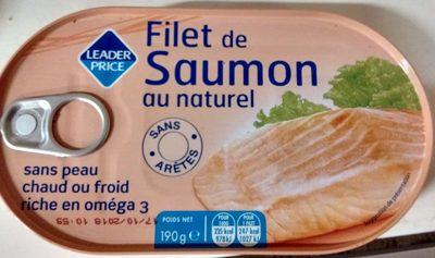 Filet de Saumon au naturel - Product