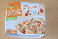Poulet, riz, œuf, ciboulette - Produit - fr