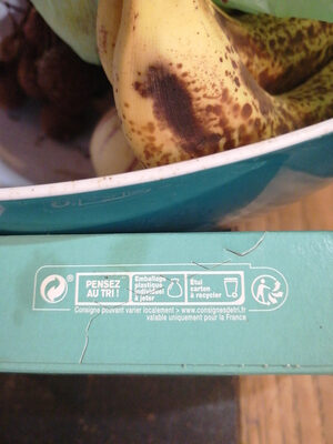 Barres Son d'avoine & Amandes - Recycling instructions and/or packaging information - fr